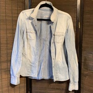 Gap 1969 Denim Button Down